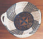 Sally Kiker, Black Raffia Basket