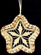 Sally Kiker Original Design Star Ornament